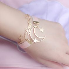 ☆+Made+of+alloy+and+velvet+ribbon  ☆+Size:+  Length+of+moon+and+star:+17cm+6cm+or+6.69+2.36+inches+  Length+of+alphabet:+16cm+5cm+or+6.29+1.96+inches  Moon:+2.7*2cm+or+1.06*0.78+inches  Letter:+1*2.4cm+or+0.39*0.94+inches  ☆+2+chokers+included  ☆+Estimated+Arrival:+10+-+40+Days+depending+on+the+d...