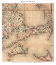 10 Best Cape Cod Old Maps images