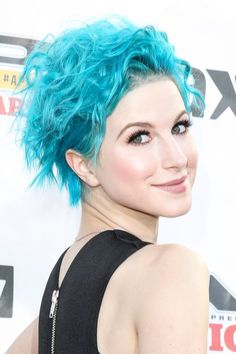 Pin for Later: 12 Hair Color Trends You Need to Try For Your Fall Makeover Textured Turquoise