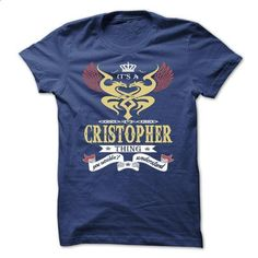 its a CRISTOPHER Thing You Wouldnt Understand  - T Shir - #hipster tshirt #hoodies womens. BUY NOW => https://www.sunfrog.com/Names/its-a-CRISTOPHER-Thing-You-Wouldnt-Understand--T-Shirt-Hoodie-Hoodies-YearName-Birthday-43504464-Guys.html?68278