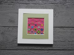 Floating Flowers, Stitch Kit, Cross Stitch, Frame, Home Decor, Picture Frame, Punto De Cruz, Decoration Home, Room Decor