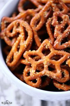 Crack Pretzels Recipe