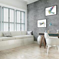 Beton na ścianie – tapeta, płytki czy tynk? | Dektona.pl - tapety beton