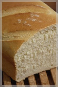 The sandwich bread I was waiting for A quotFloquot of good things Italian Bread Recipes, Easy Bread Recipes, Cooking Bread, Bakery, Brunch, Food And Drink, Crepes, Photos, Baguettes
