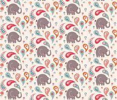 Fun Bathtime for Little Elley pattern by bora on Spoonflower.