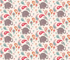 Fun bathtime for little Elley fabric by bora on Spoonflower - custom fabric
