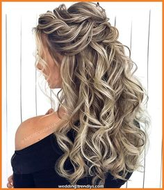 39 Gorgeous Half Up Half Down Hairstyles , braid half up half down hairstyles , partial updo hairstyle ,bridal hair ,boho hairstyle Bridal Hair Updo, Wedding Hairstyles For Long Hair, Loose Hairstyles, Wedding Hair And Makeup, Bride Hairstyles, Updo Hairstyle, Casual Hairstyles, Gorgeous Hairstyles, Hairstyles Pictures