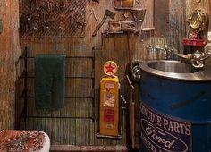 NYC Steampunk Apt3 Bathroom