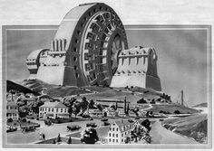 In 1922, eccentric magazine publisher Hugo Gernsback decided that the world needed a 1,000-foot tall concrete monument to electricity. Gernsback imagined that this monument might last for thousands of years, and rather than some static behemoth stuck in time, the interior of his monument would be constantly changed to reflect the technological advances of each new generation.