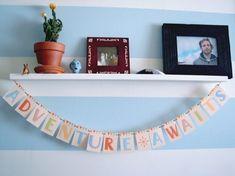 Nursery Theme -- Adventure awaits