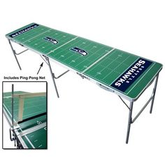 Seahawks Pong Table! Yes please!