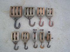 vintage pulley system