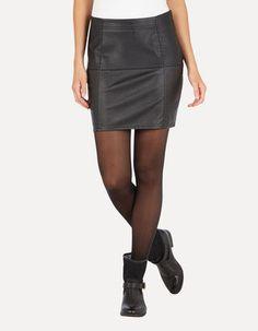Rock in Snake-Optik Rock, Leather Skirt, Snake, Mini Skirts, Fashion, Jackets, Curve Dresses, Moda, Fashion Styles