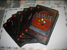 Magic the Gathering 7 Cards Cakes