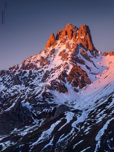 Torre del Friero... or just Friero,an impresive Mountain of León province and Cordillera Cantábrica, Spain by Roberto Graña on 500px.