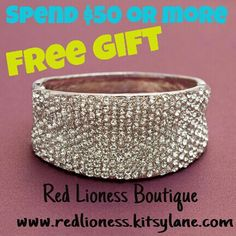 Enjoy the savings & get a free gift