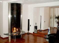 DS321 Semi-Circular Open Gas Fire