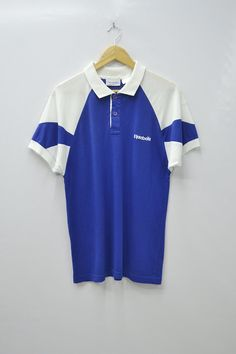 db87591b8b Reebok Shirt Reebok Polo Shirt Vintage Reebok Mens Size S Reebok Vintage  Classic Colorblock Polo Shirt