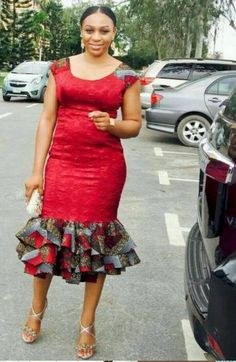 Here Are Some Amazing modern african fashion 4250 Ankara Dress Styles, African Print Dresses, African Dresses For Women, African Wear, African Attire, African Fashion Dresses, African Women, African Prints, Kente Styles