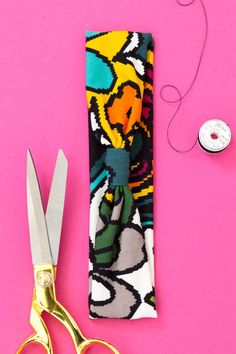 Stitch some fun fabric into a bunch of snazzy headbands.