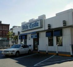 The White Castle on Fordham Road, just east of Fordham University.