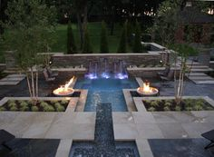 LED intellibrite lighting, dual fire pits, and wrap around seating