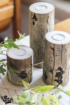 Tree Limb Tea Light Holder