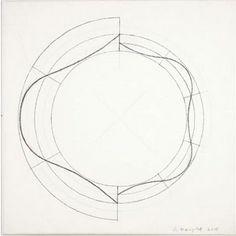 Robet Mangold, Split ring, 2008