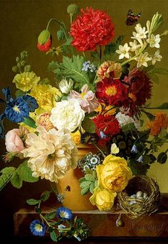 Jigsaw Puzzle - Still Life With Flowers (26120)