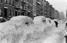 from Life.com  -   Bracing for today's winter storm? LIFE remembers the great blizzard of 1947 that buried New York City.