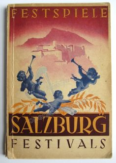 Salzburg Festival Full Guide Book 1949