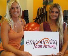 Bethany Hamilton and Alana Blanchard #surfers #surf #nature #adventure #travel #surfboard #surfing