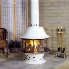 Spin-A-Fire wood stove fireplace from Malm Fireplaces