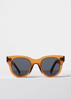 Baby Audrey Sunglasses in Acetate - Céline