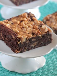 Peanutty Tagalong Brownies from @jennyflake