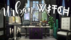 Today I'm building an apartment for a spooky witch! I also go on and on about yoga (again), give you a new vocab word, and share a few Halloween stories! Sims 4 Body Mods, Sims 4 Game Mods, Sims Mods, Sims 4 Stories, Sims 4 House Building, Magic House, Sims House Design, Spooky House, Sims 4 Cc Furniture