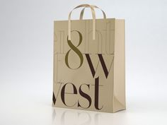 8west Identity by The Creative , via Behance