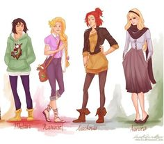 Disney hipsters !!