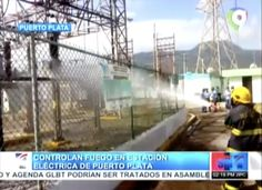 Controlan Fuego En Estación Eléctrica De Puerto Plata