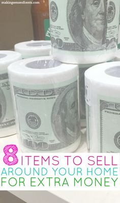 Whether you're looking to make extra cash or if your primary objective is to declutter your home, here are 8 things to sell to make money.
