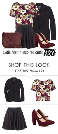 Lydia Martin inspired outfit/TW by tvdsarahmichele on Polyvore featuring Boohoo, Talula, Joie, Sole Society and Jigsaw