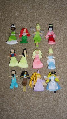 disney princess hair bows