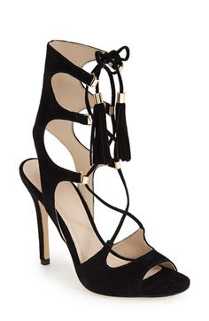 Marc Fisher LTD 'Larsa' Lace Up Sandal (Women) available at #Nordstrom