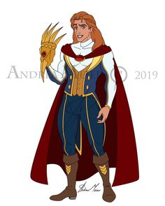 """Andrea Meier Art on Instagram: """"COMMISSION: """"Adam/Beast Winx Specialist"""" by Andrea Meier Today I'm sharing another male to join the crossover between Disney and Winx…"""" Disney Movie Characters, Disney Crossovers, Disney Movies, Disney And Dreamworks, Disney Pixar, Walt Disney, Disney Belle, Sailor Princess, Princess Zelda"""