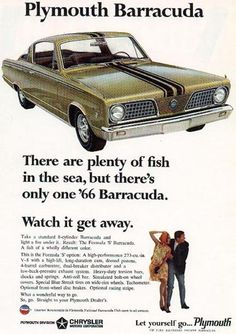 Another Barracuda Ad
