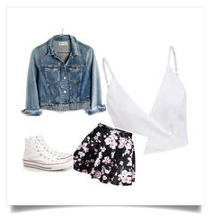 """""""concert????"""" by fabxforever7 on Polyvore featuring Madewell and Converse"""