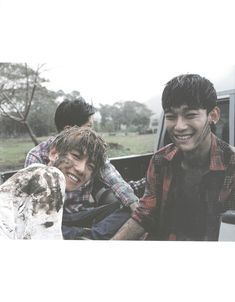 EXO Fiji Photobook Dear Happiness (baekhyun, chen)