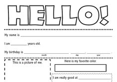 penpal letter template!  FUN!  Who needs a pen pal?