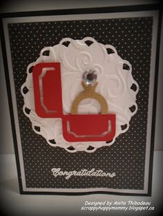 Craft Your Passion Challenge - Sweethearts and Elegant Edges