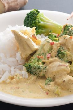 Thai Peanut Chicken with Broccoli